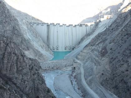 Deriner Barajı Geçici kabulu yapıldı.