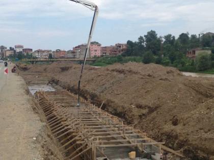 Trabzon Araklı Karadere Islahı Taşkın Koruma İnşaatı Yapım  İşi